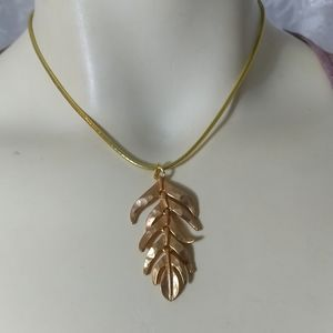 KENNETH JAY LANE Gold Plated Pendant
